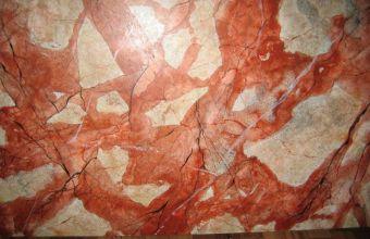 gemalte Marmorplatte